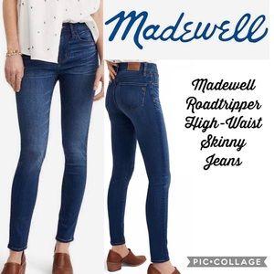 Madewell Roadtripper High-Waist Skinny Jeans